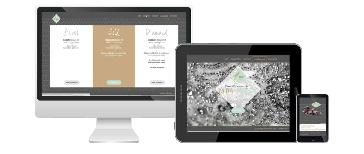Miramosa Online weddingplanner - Webmaatwerk Oost Vlaanderen