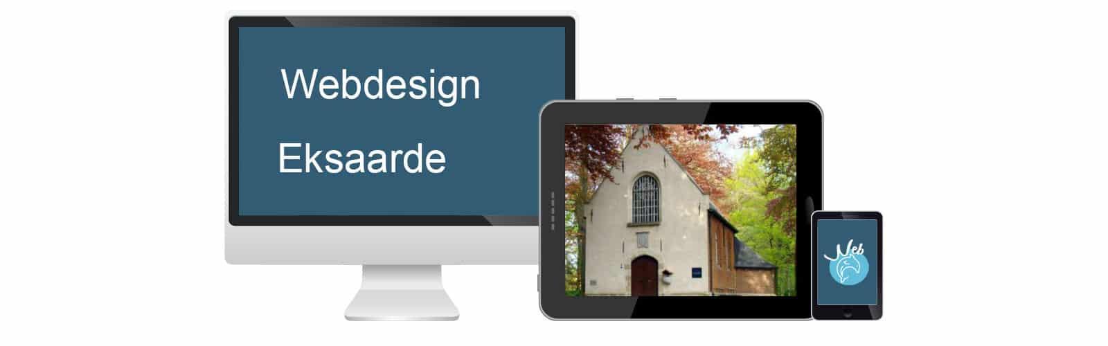 Webdesign Eksaarde - webdolfijn