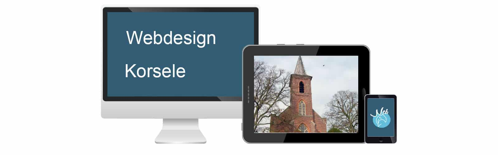 Webdesign Korsele - webdolfijn