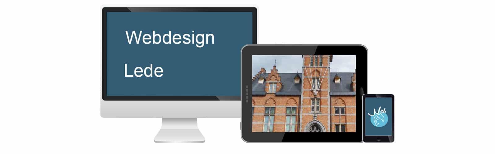 Webdesign Lede - webdolfijn